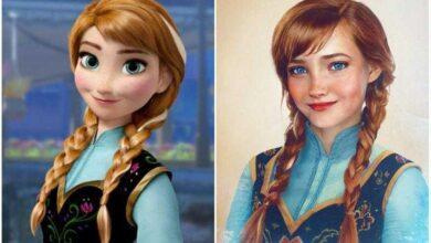 Como seriam as princesas Disney se fossem mulheres de carne e osso