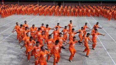 INCRÍVEL coreografia de Michael Jackson realizada por prisioneiros