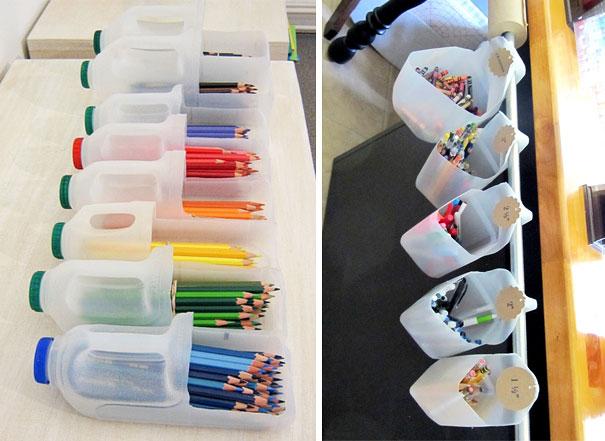 Ideias criativas para reutilizar garrafas de plástico
