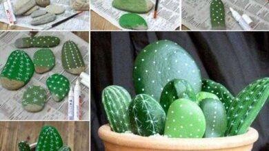 Foto de 21 Ideias de Artesanato com Pedras