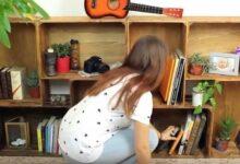 Como fazer uma prateleira reciclando caixas de madeira! g