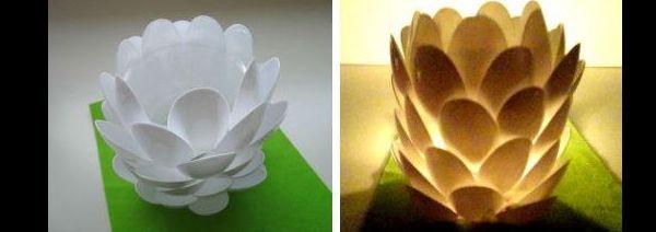 Como Fazer Artesanato com Colheres Descartáveis