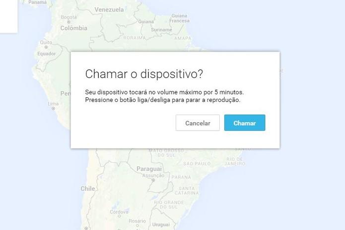 Como rastrear celular pelo google-passo4