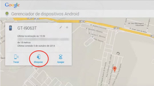 Como rastrear celular pelo google-passo13