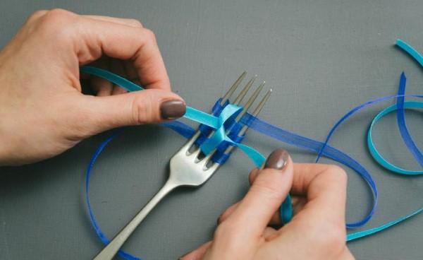 dicas para fazer laço com fita decorativa fina