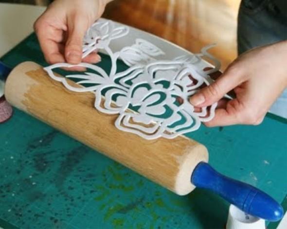 Como fazer um carimbo artesanal para pintar paredes