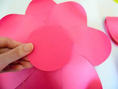 flores de papel artesanato