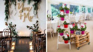 Foto de 95 Ideias de decoração de casamento simples