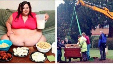Foto de Lembra da mulher que queria engordar para agradar o namorado? A história acabou mal…