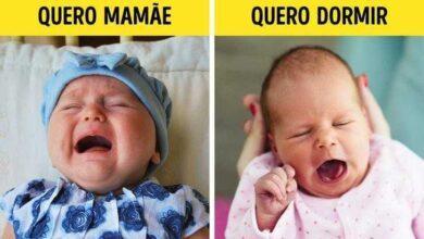 Conheça a linguagem corporal dos Bebês r4