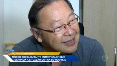 Médico de um Hospital em MT chora ao revelar a situação de calamidade