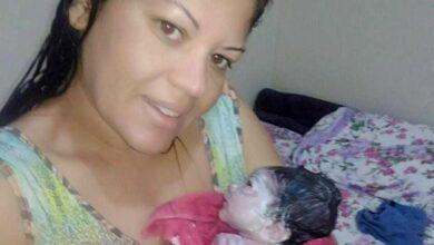 Foto de Mulher dá à luz sozinha em casa no DF e ainda filma o próprio parto (Assista o vídeo)