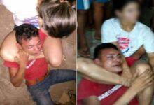 Foto de Mulher domina ladrão e faz ele chamar pela mãe, assista o vídeo!