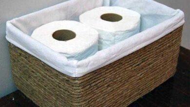 Foto de Transforme caixas de papelão cestas decorativa