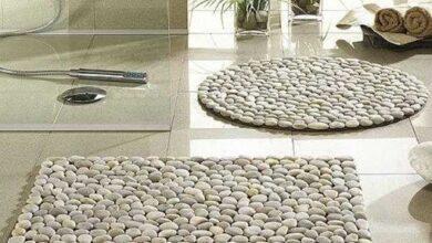 Foto de Aprenda como fazer tapete de pedra