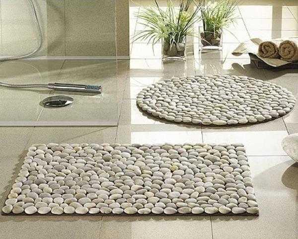 Aprenda como fazer tapete de pedra 00