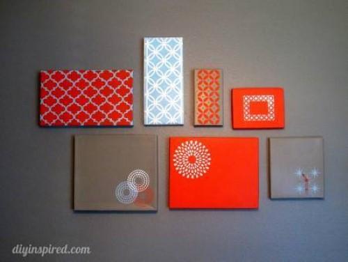 ideias de artesanato com reciclagem para enfeitar parede