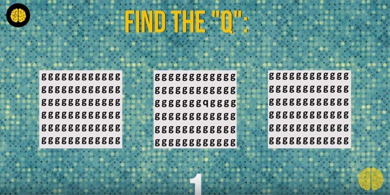 Teste o seu cérebro: você consegue encontrar as letras? 4