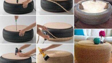 Foto de 22 Ideias para reaproveitar pneus velhos