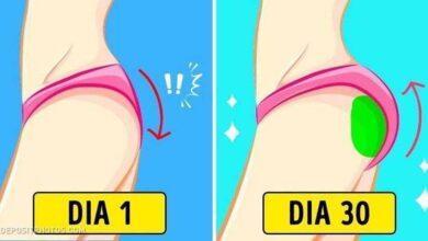 6 Exercícios para levantar o bumbum