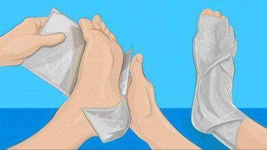 Foto de Como eliminar a dor usando papel alumínio