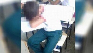 Garoto é humilhado por diretor em escola, por estar de chinelo D