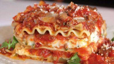 Foto de Lasanha de Linguiça com Molho de Tomate