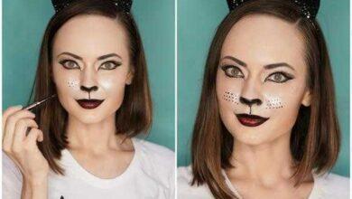 Foto de Maquiagem de gatinho passo a passo