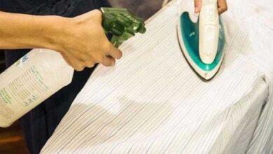 Foto de Receita de água de passar roupa
