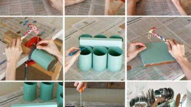 Como fazer um porta talher artesanal