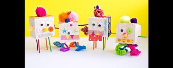 artesanato com caixinha de papelão