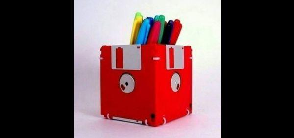 artesanato com disquete