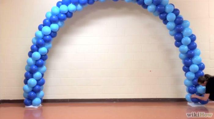 arco de balões como fazer