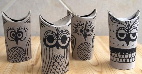 1499108951 237 ideias criativas com rolinhos de papel 17 Ideias INCRÍVEIS com rolinhos de papel