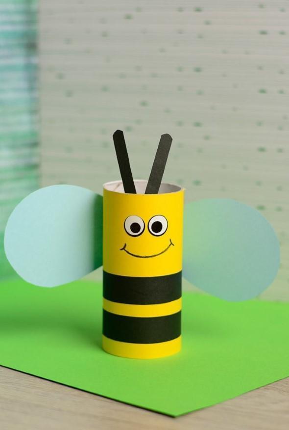 1499108964 80 ideias criativas com rolinhos de papel 17 Ideias INCRÍVEIS com rolinhos de papel