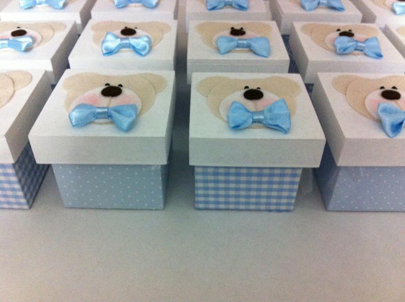caixa mdf para lembrança de chá de bebe