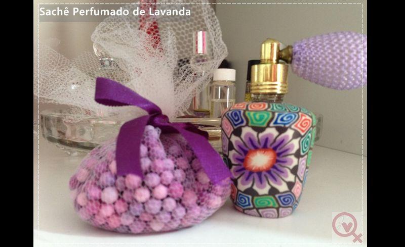 sache perfumado de sagu colorido