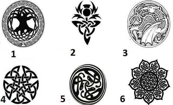 Escolha o seu símbolo celta e veja o que ele tem a dizer a você! 1