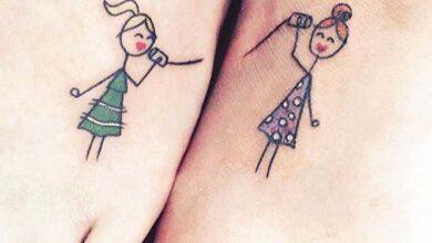 10 ideias incríveis de tatuagens para você mostrar o quanto é ligada à sua irmã