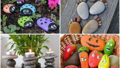 14 Artesanatos com Pedras para Fazer em Casa