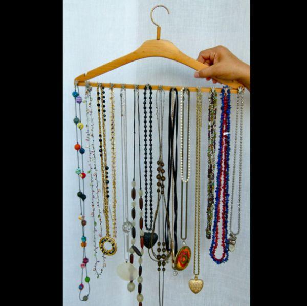 porta joias com cabide