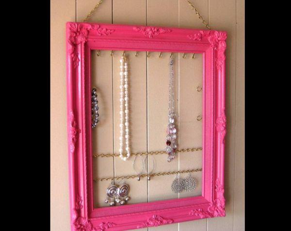 porta joias com porta retrato