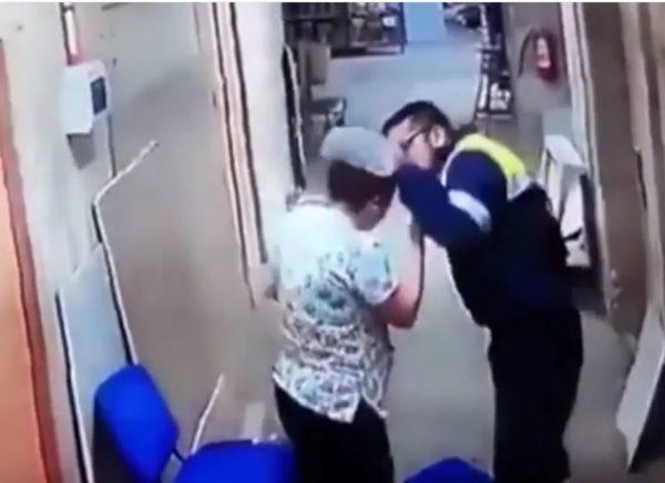 Paramédico chuta barriga de enfermeira grávida em hospital