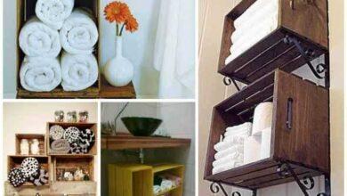 Foto de 18 Ideias de artesanato para enfeitar o banheiro