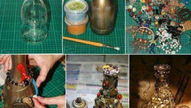 Foto de 20 Ideias de Garrafas Decoradas