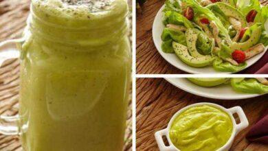 Foto de 3 receitas de abacate para secar a barriga