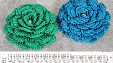 Como fazer Flores de Crochê