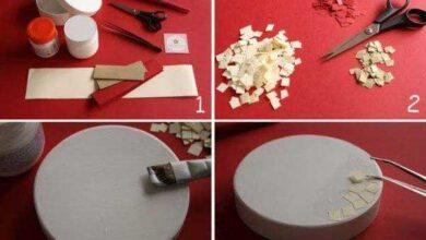Foto de Como Fazer Mosaico de Papel