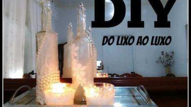 DO LIXO AO LUXO COM GARRAFAS
