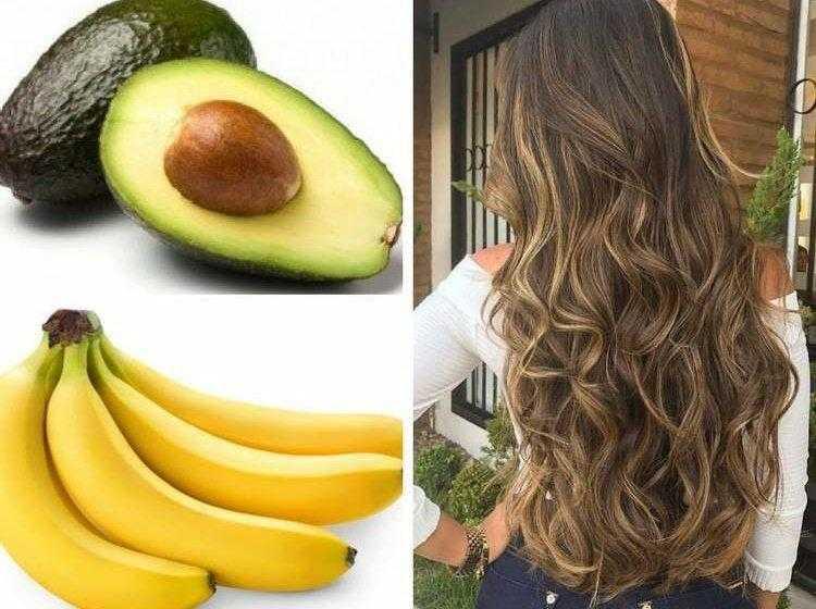 11 receitas caseiras para hidratar os cabelos com frutas